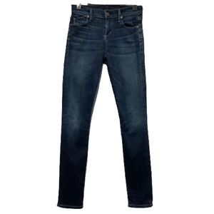 CITIZENS OF HUMANITY LOW RISE SKINNY JEANS SIZE 25